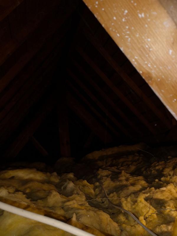 Isolation par soufflage d'une maison à Carnac 1