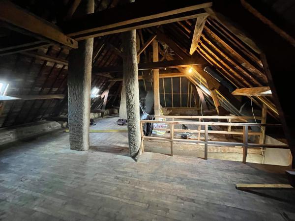 Isolation complète de l'étage sur Locoal-Mendon 1