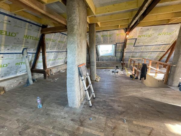 Isolation complète de l'étage sur Locoal-Mendon 4