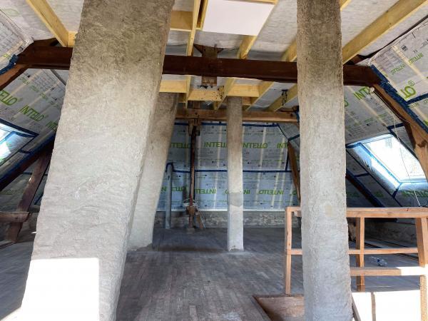 Isolation complète de l'étage sur Locoal-Mendon 5