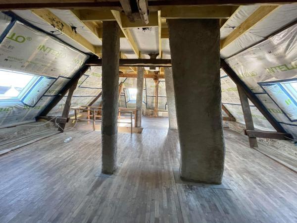 Isolation complète de l'étage sur Locoal-Mendon 8
