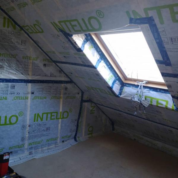 Ty'iso, isolation de combles aménagés sous toiture en rampants à Auray 4