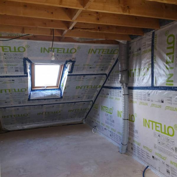 Ty'iso, isolation de combles aménagés sous toiture en rampants à Auray 5