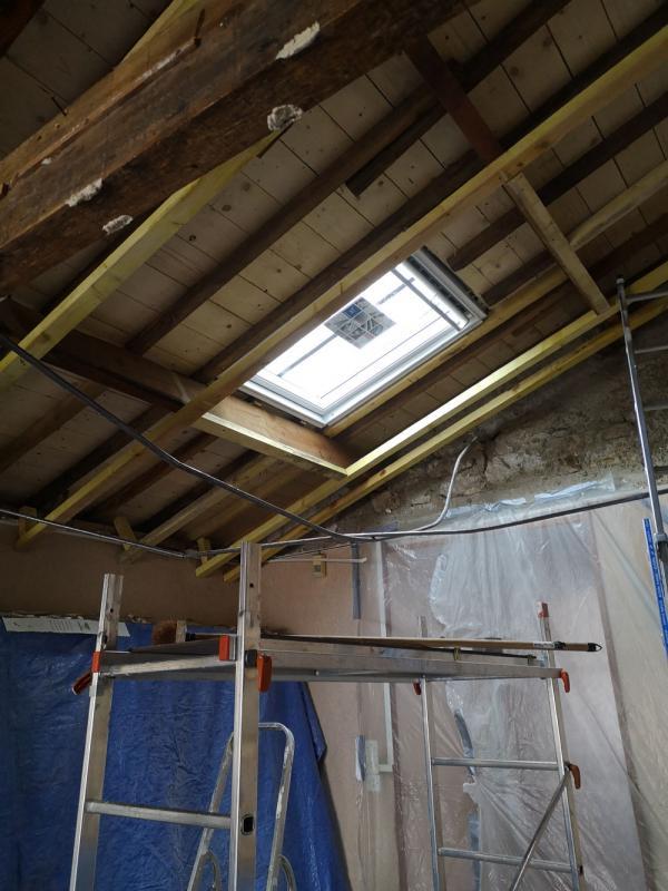 isolation avec apport de lumière par l'installation d'un Vlux à Carnac 2