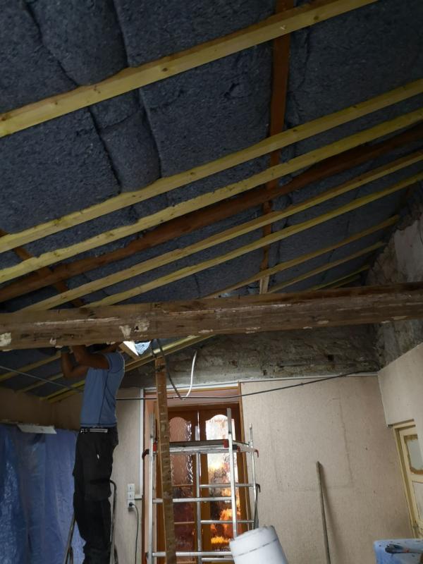 isolation avec apport de lumière par l'installation d'un Vlux à Carnac 4