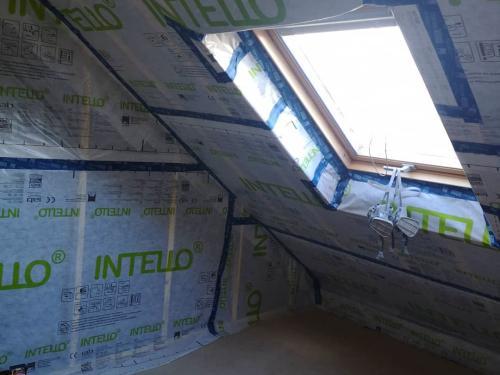 Ty'iso, isolation de combles aménagés sous toiture en rampants à Auray